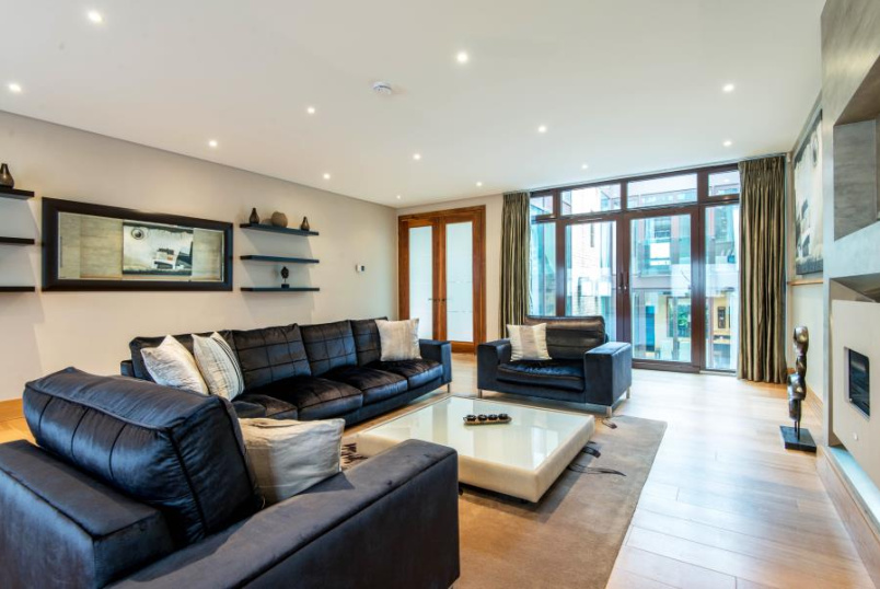 House - terraced to rent in St Johns Wood - COLLECTION PLACE, BOUNDARY ROAD, NW8 0RH