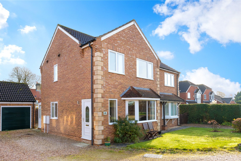 House for sale in Sleaford - Shrubwood Close, Heckington, Sleaford, NG34