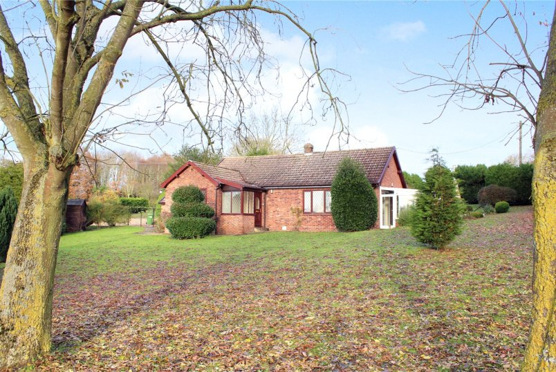 Bungalow for sale in  - Halesworth Road, Wissett, Halesworth, IP19