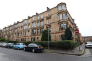 View of Lawrence Street, Glasgow, Lanarkshire, G11