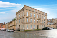 View of Lynedoch Terrace, Park, Glasgow, G3