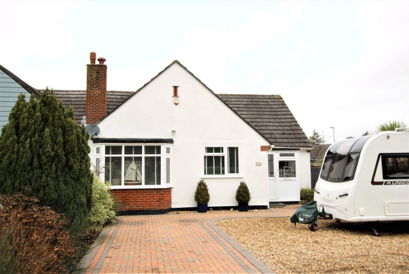 Bungalow for sale in Highcliffe - Lymington Road, Christchurch, Dorset, BH23
