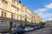 View of Montague Street, Kelvinbridge, Glasgow, G4