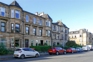 View of Broomhill Terrace, Broomhill, Glasgow, G11