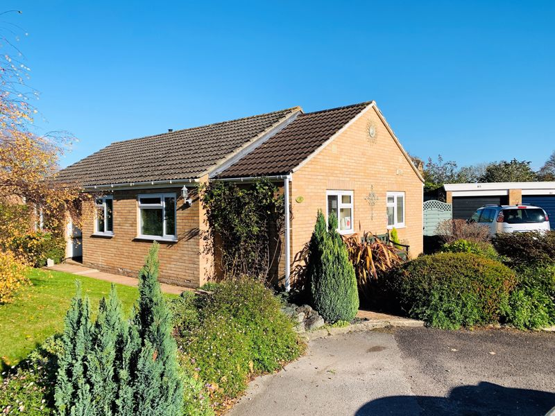A detached bungalow with a generous private garden in Bishops Hull, Taunton Image 1