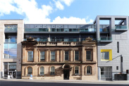 View of West Nile Street, Glasgow City Centre, G1
