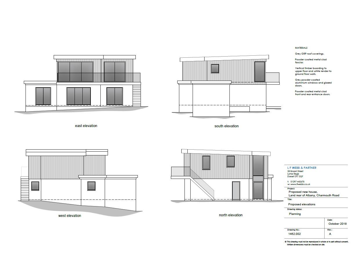 Building Plot at Albany, Charmouth Road, Lyme Regis Image 5