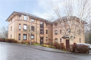 View of Riverside Gardens, Busby, Glasgow, G76