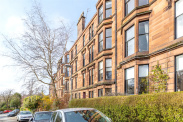 View of Botanic Crescent, North Kelvinside, Glasgow, G20