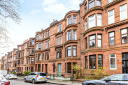 View of Caird Drive, Partickhill, Glasgow, G11