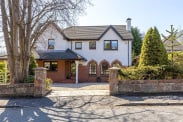 View of Westbourne Drive, Bearsden, Glasgow, G61