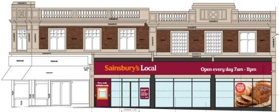 New Sainsbury's Local on our High street
