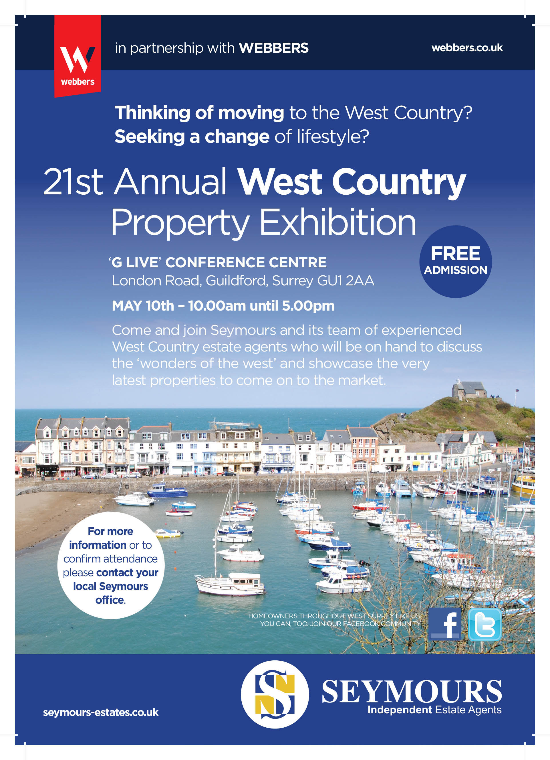 G LIVE PROPERTY EXHIBITION TO PROVIDE KEY TO THE WEST COUNTRY