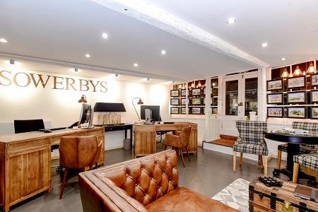 The stunning interior of Sowerbys Burnham Market office