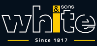 White & Sons logo