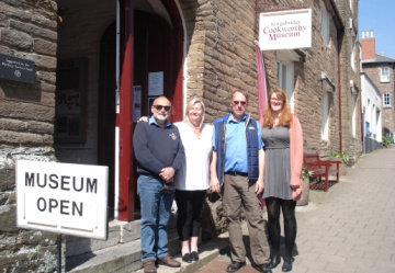 Cookworthy Museum pit stop for celebrating a 100th birthday