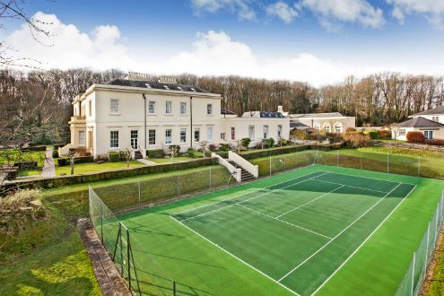 Warm Up For Wimbledon With These Homes With Tennis Courts For Sale