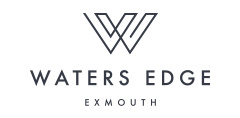 Waters Edge Exmouth New Homes Development logo