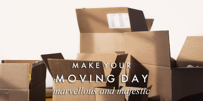 Make your moving day marvellous & majestic