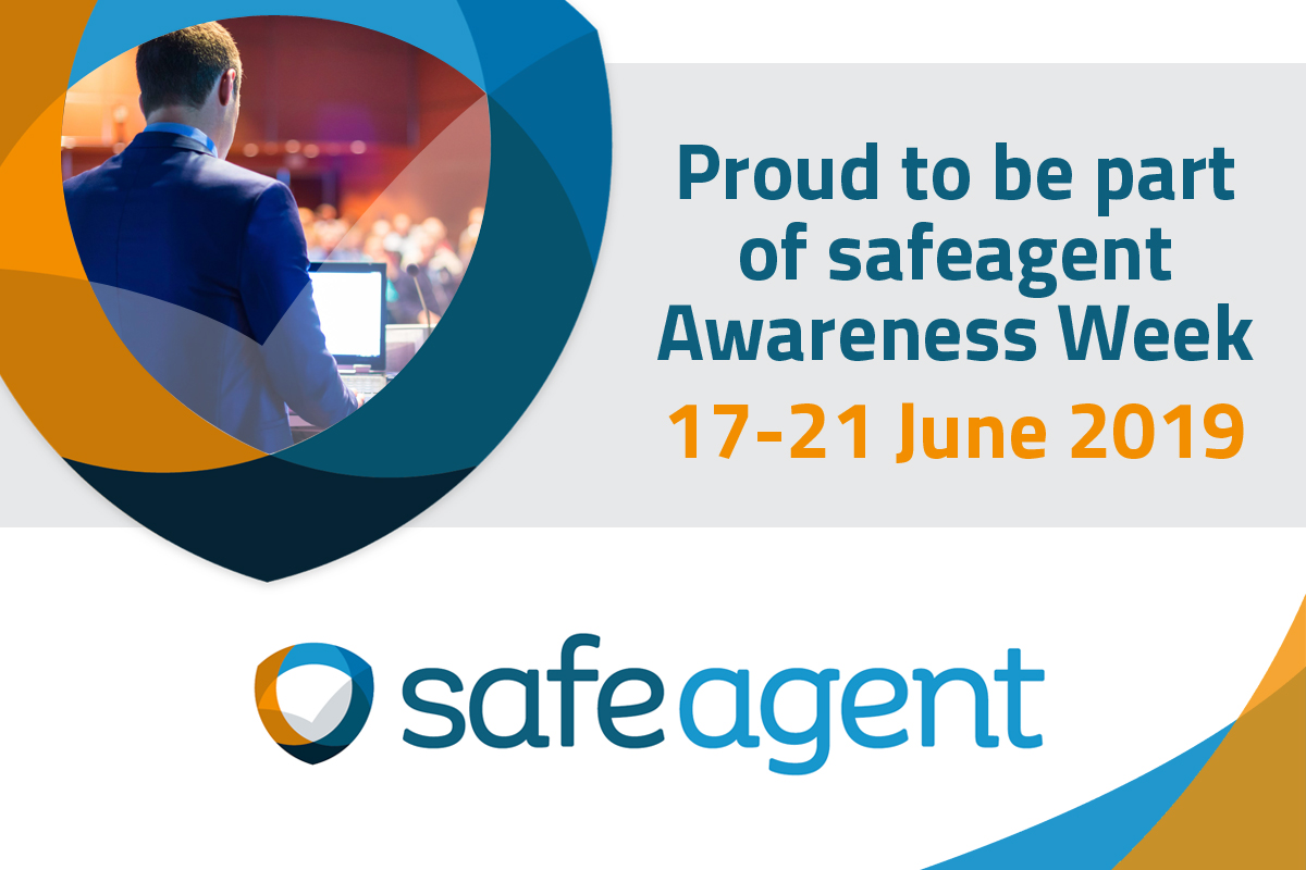 Proud to support Safeagent week
