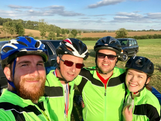 James Sellicks raises money for Leicestershire Cares with a 25 mile bike ride!