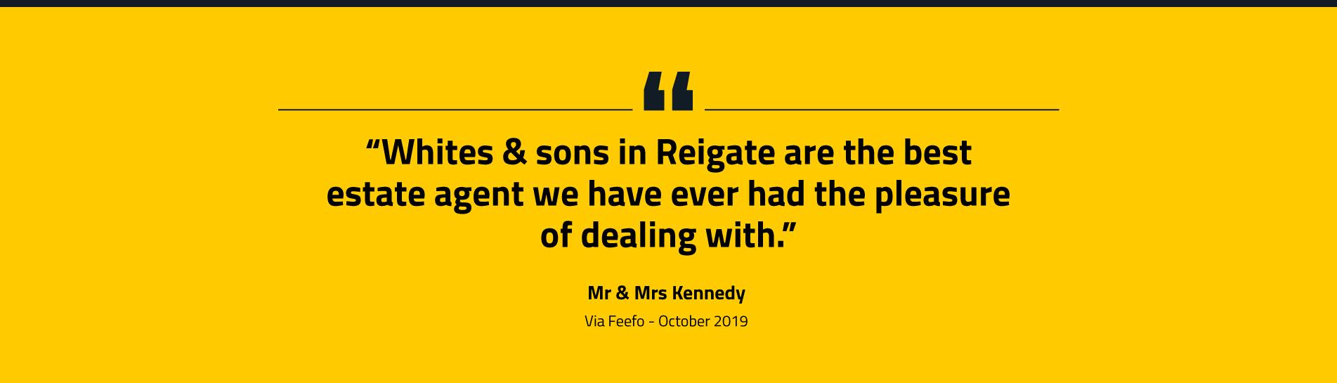 Estate Agent In Reigate White Sons